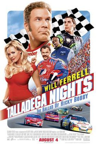 Talladega Nights: The Ballad of Ricky Bobby - Theatrical release poster