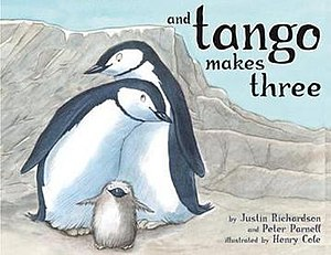 And Tango Makes Three - First edition cover of And Tango Makes Three