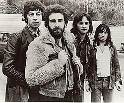 10cc in 1973 (l-r): Gouldman, Godley, Stewart, Creme (from 10cc press-kit)