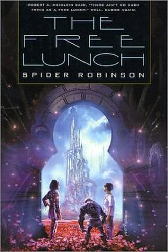 The Free Lunch - First edition (publ. Tor Books) Cover art by Stephan Martiniere