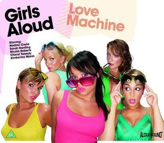 Girls Aloud — Love Machine (studio acapella)