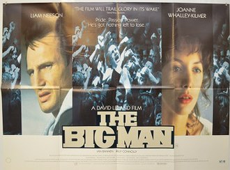 The Big Man - Promotional release poster