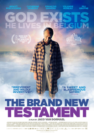 The Brand New Testament - Theatrical release poster