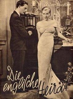 <i>The English Marriage</i> 1934 film by Reinhold Schünzel