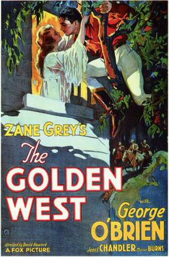 The Golden West (film) - Theatrical release poster