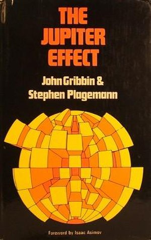 The Jupiter Effect - Cover of the first edition