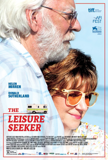 <i>The Leisure Seeker</i> 2017 film directed by Paolo Virzì