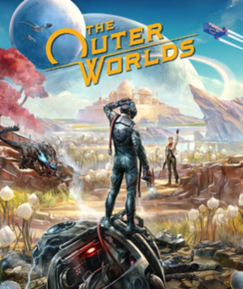 <i>The Outer Worlds</i> upcoming 2019 action role-playing video game developed by Obsidian Entertainment