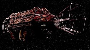 Red Dwarf - Red Dwarf's current design from Series X on.