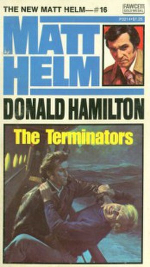 The Terminators - First paperback edition, April 1975