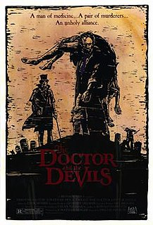 <i>The Doctor and the Devils</i> 1985 film by Freddie Francis