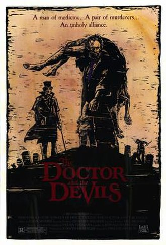 The Doctor and the Devils - Theatrical release poster
