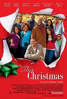 <i>This Christmas</i> (film) 2007 film by Preston A. Whitmore II