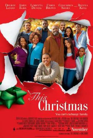 This Christmas (film) - Theatrical release poster