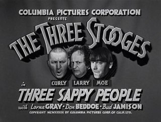 <i>Three Sappy People</i> 1939 film by Jules White