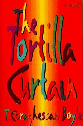 The Tortilla Curtain - First US edition cover