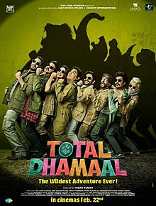 Total Dhamaal (2019) Hindi 480p TURE HDRip x264 – 350MB