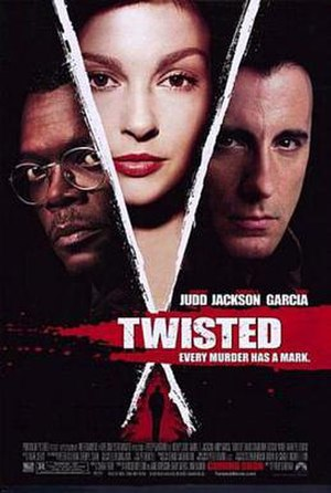 Twisted (2004 film) - Theatrical release poster
