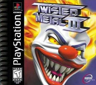 Twisted Metal III - Cover art