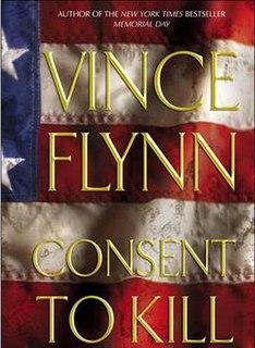 <i>Consent to Kill</i> novel by Vince Flynn