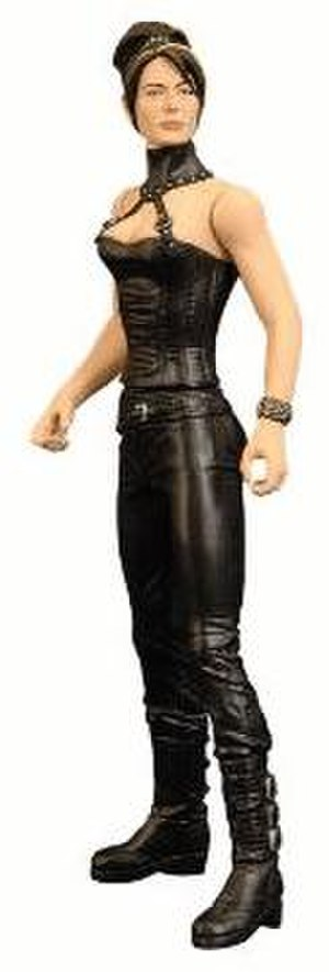 "Vala Mal Doran - Vala action figure, based on her appearance in the episode ""Avalon"""
