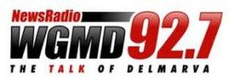 WGMD - Image: WGMD small logo