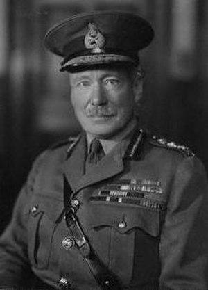 Walter Kirke - Gen. Sir Walter Kirke