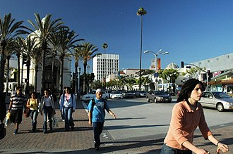 Westwood, Los Angeles - Westwood Village street scene in 2005