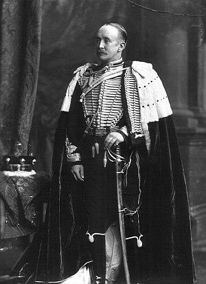 Baron Bolton - William Thomas Orde-Powlett, 4th Baron Bolton (1845-1922), ready for a coronation, 7 August 1902, by Lafayette Ltd., 179 New Bond Street, London.
