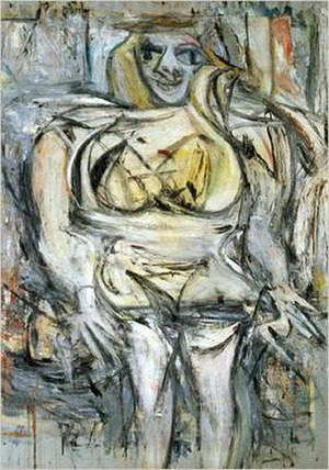 Willem de Kooning - Woman III, 1953, private collection