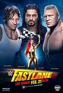 WWE FASTLANE 2016 Live online And Download Full Show Free !