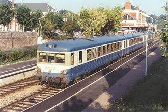SNCF Class X 4900 - X 4922 at Bernay