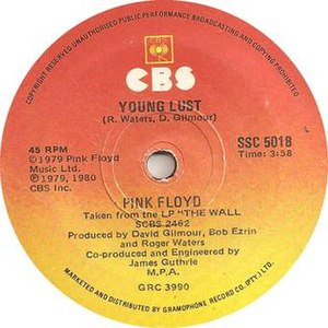 Young Lust (song) - Image: Young Lust Pink Floyd