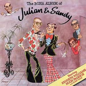 Julian and Sandy - 1976 LP cover
