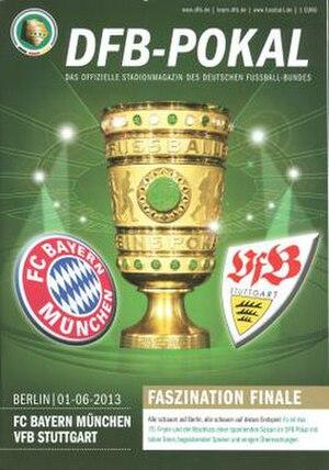2013 DFB-Pokal Final - Image: 2013 DFB Pokal Final programme