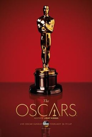 89th Academy Awards - Official poster