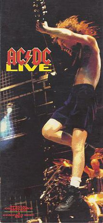 AC/DC Live - Image: ACDC Live 2 CD Edition