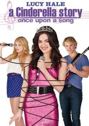 A Cinderella Story: Once Upon a Song - DVD cover