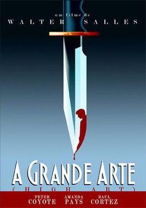 A Grande Arte - DVD cover