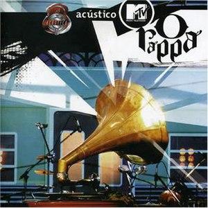 Acústico MTV (O Rappa album) - Image: Acústico MTV (O Rappa) cover