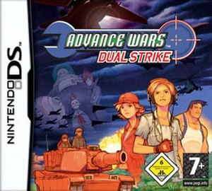 Advance Wars: Dual Strike - Image: Advance Wars DS cover art