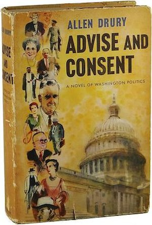 Advise and Consent - First edition