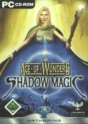 Age of Wonders: Shadow Magic - Image: Age of Wonders Shadow Magic Coverart
