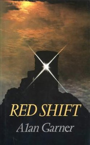 Red Shift (novel) - First edition cover, showing the folly tower on Mow Cop.