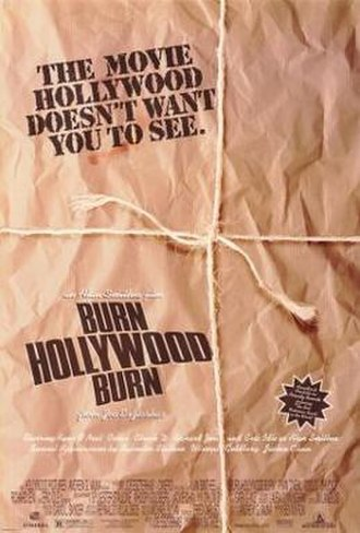 An Alan Smithee Film: Burn Hollywood Burn - Theatrical release poster