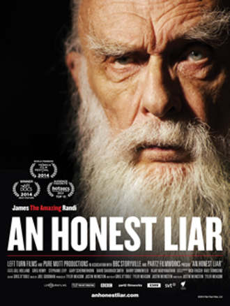 An Honest Liar - Theatrical release poster