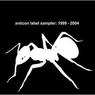 Anticon Label Sampler: 1999-2004 - Image: Anticon Label Sampler 1999 2004