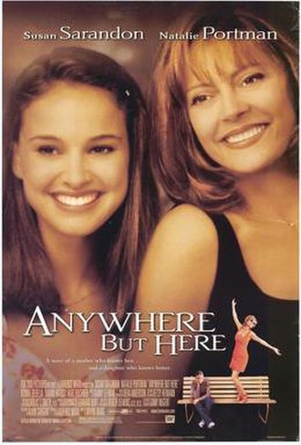 Anywhere but Here (film) - Theatrical release poster