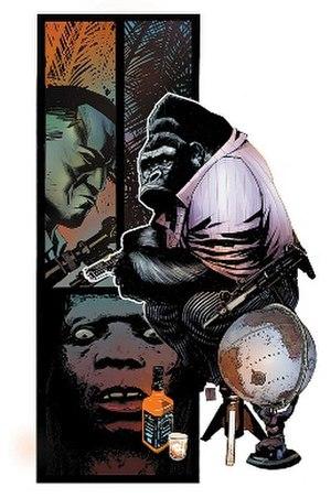 Gorilla-Man - Image: Aoatlas 002 cov c