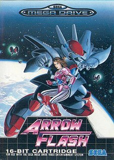 <i>Arrow Flash</i> 1990 video game